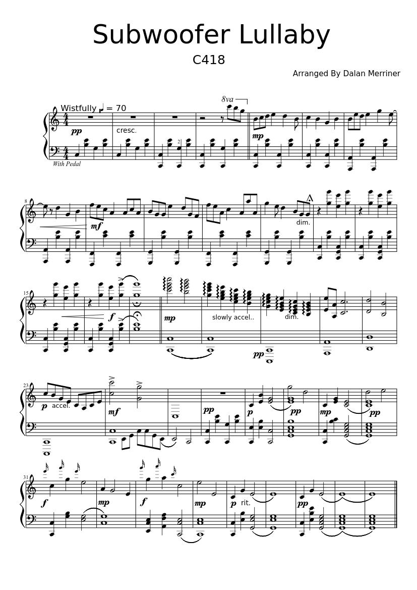 Minecraft piano music tutorial