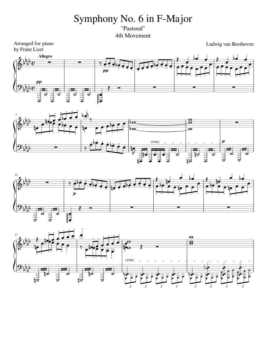 beethoven symphony 9 fourth movement