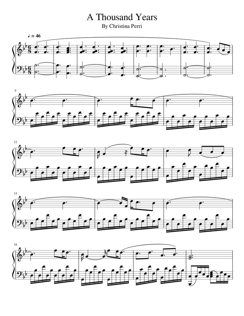 Christina perri a thousand years instrumental + free mp3.