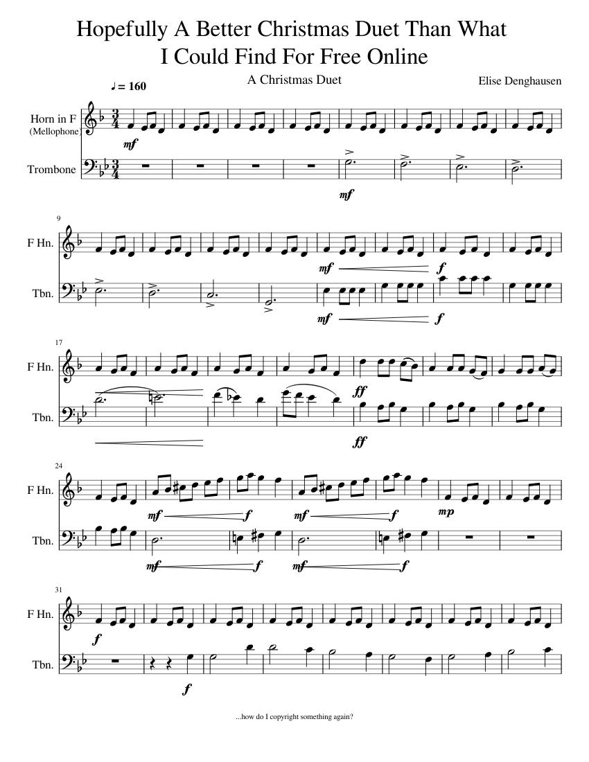 Christmas duet song