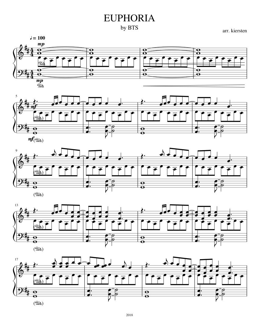 bts euphoria piano sheet music easy ist es zu spät, um in bitcoin zu investieren?