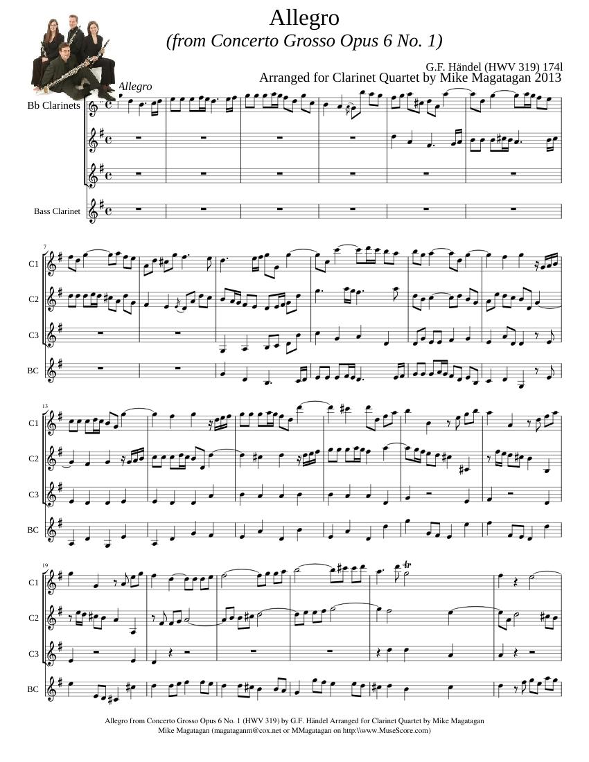 handel concerto grosso opus 6 no 12