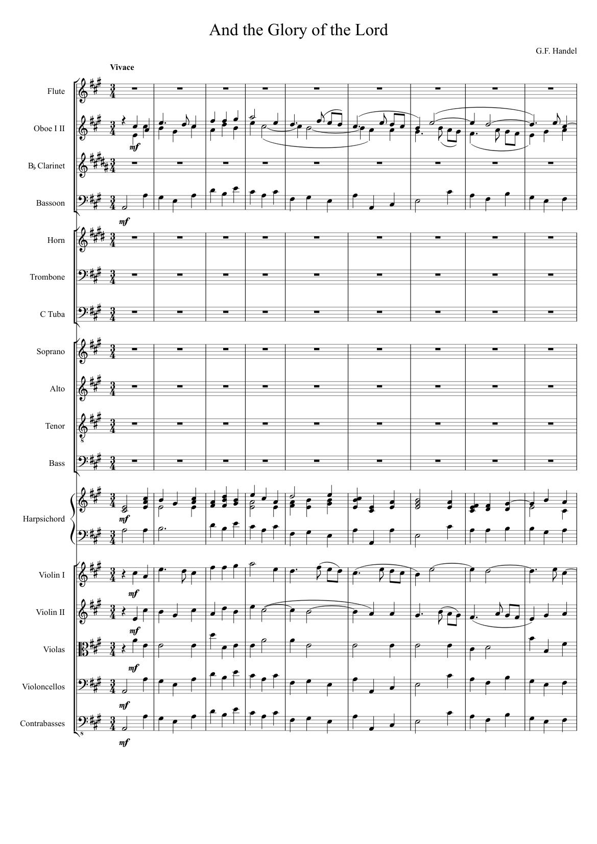 Orchestral suite no. 2 2. Rondeau download sheet music pdf file.