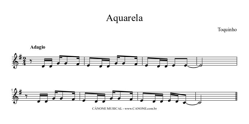 musica aquarela do brasil toquinho gratis