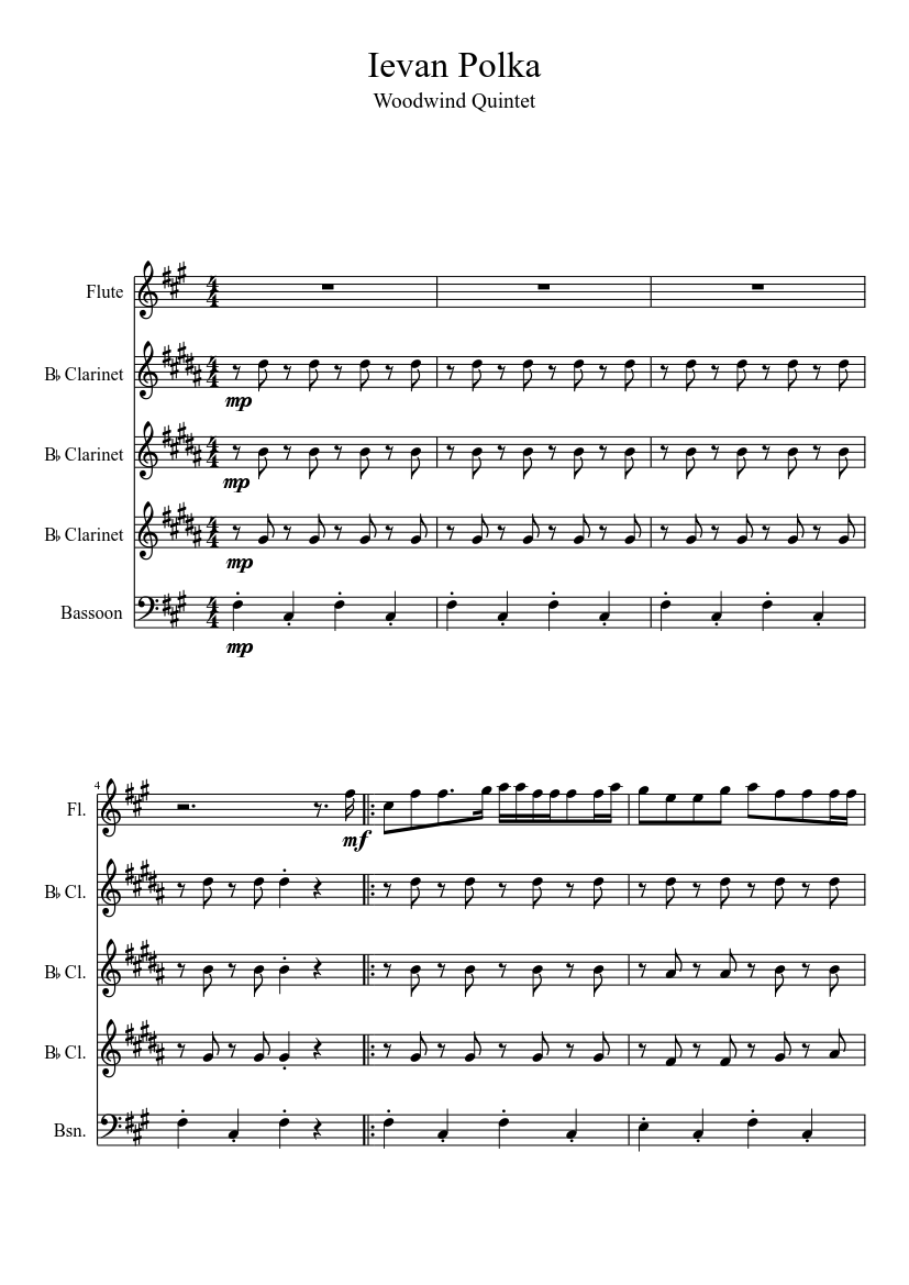 Ievan polkka (brass version) by ievan polkka & loituma tribute.