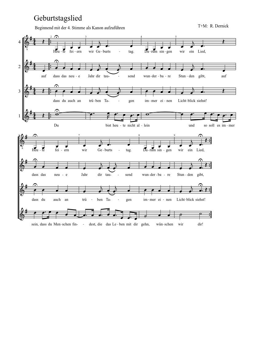 Weil Du Heut Geburtstag Hast Lied Songtext Von Karat 2020 05 06