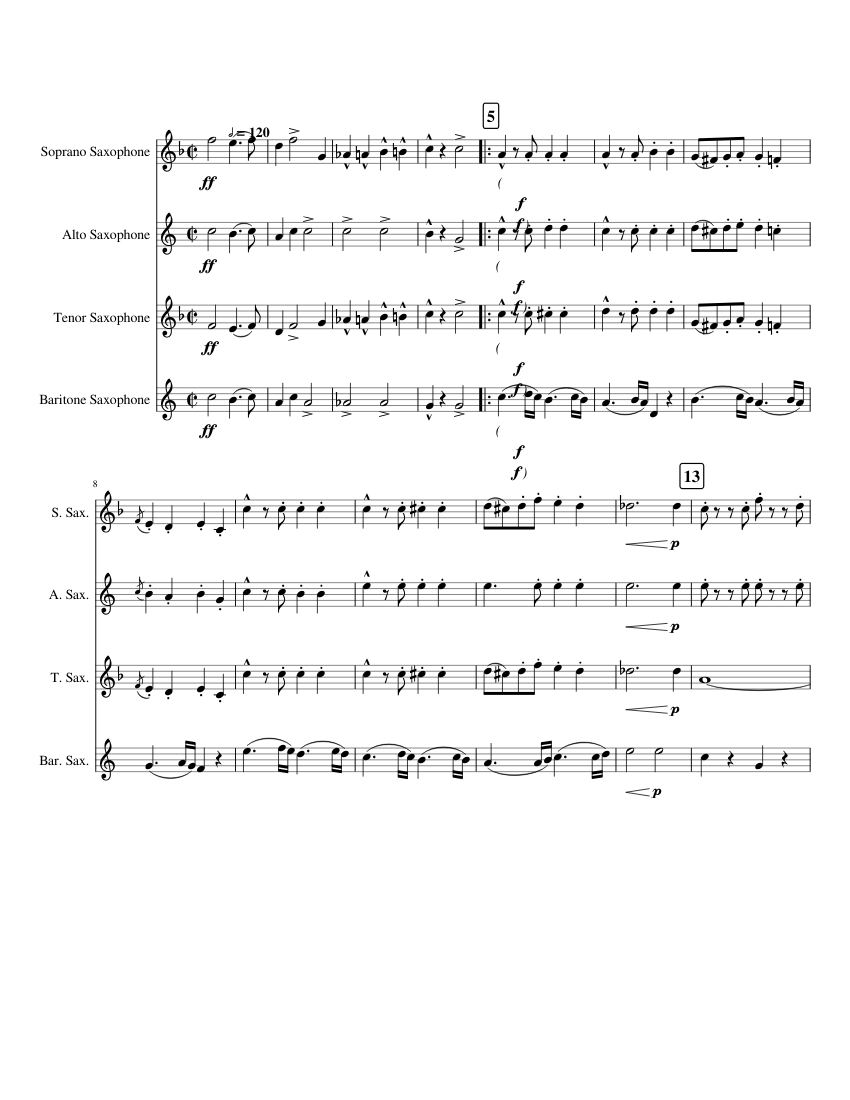 Sousa the stars and stripes forever piano sheet music download.