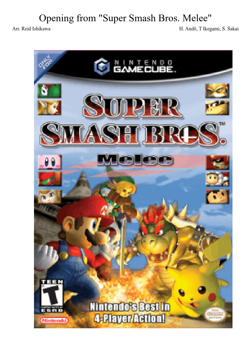 Super smash bros. Melee full game free pc, download, play. S by.