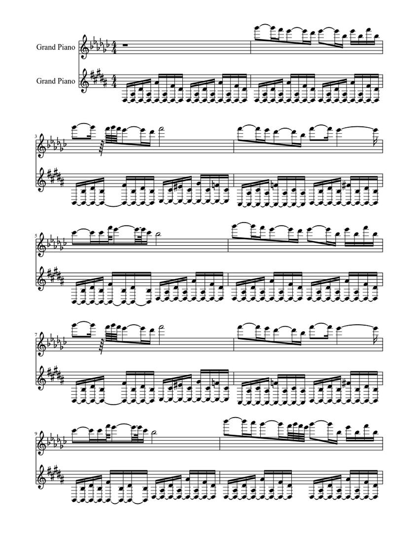Heyat Davam Edir Huseyn Abdullayev Piano Lesson Sheet Music For Piano Piano Duo Musescore Com