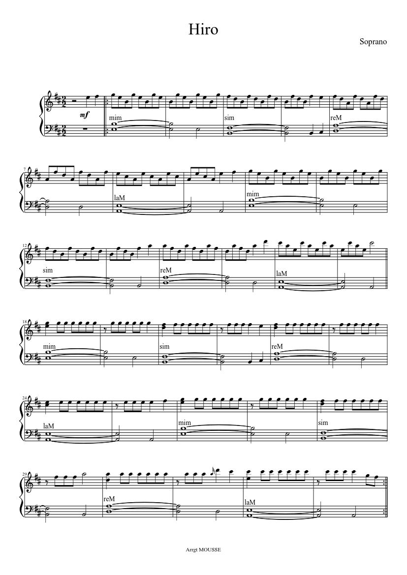 hiro soprano gratuit
