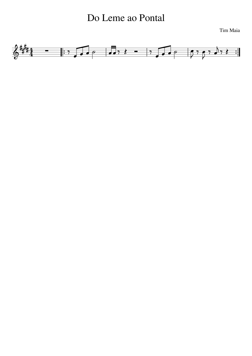 musica do leme ao pontal