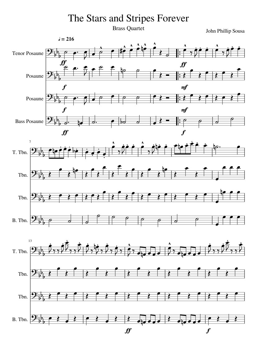 Stars and stripes forever sousa/horowitz sheet music download free.