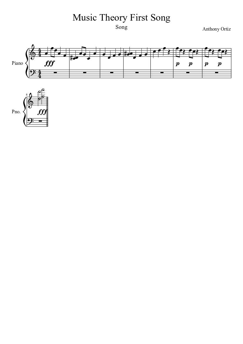 Piano Music Theory Pdf