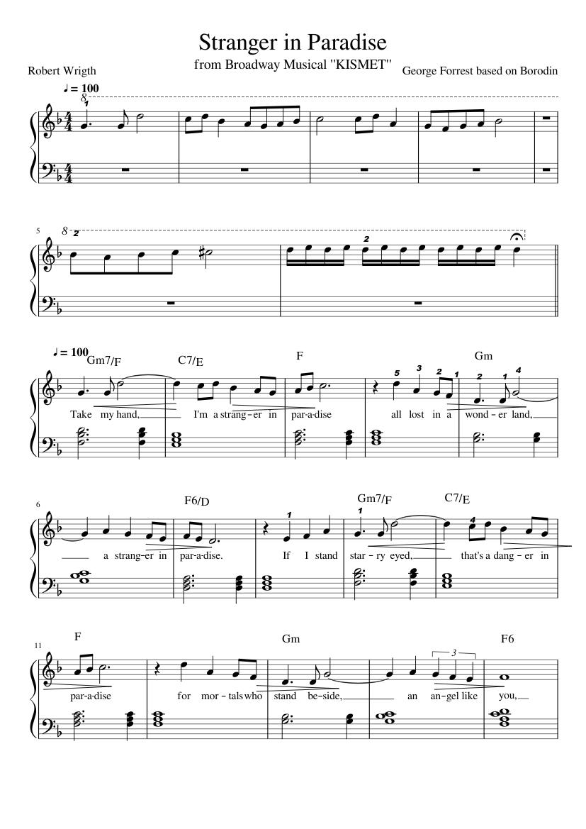 partitura de borodin