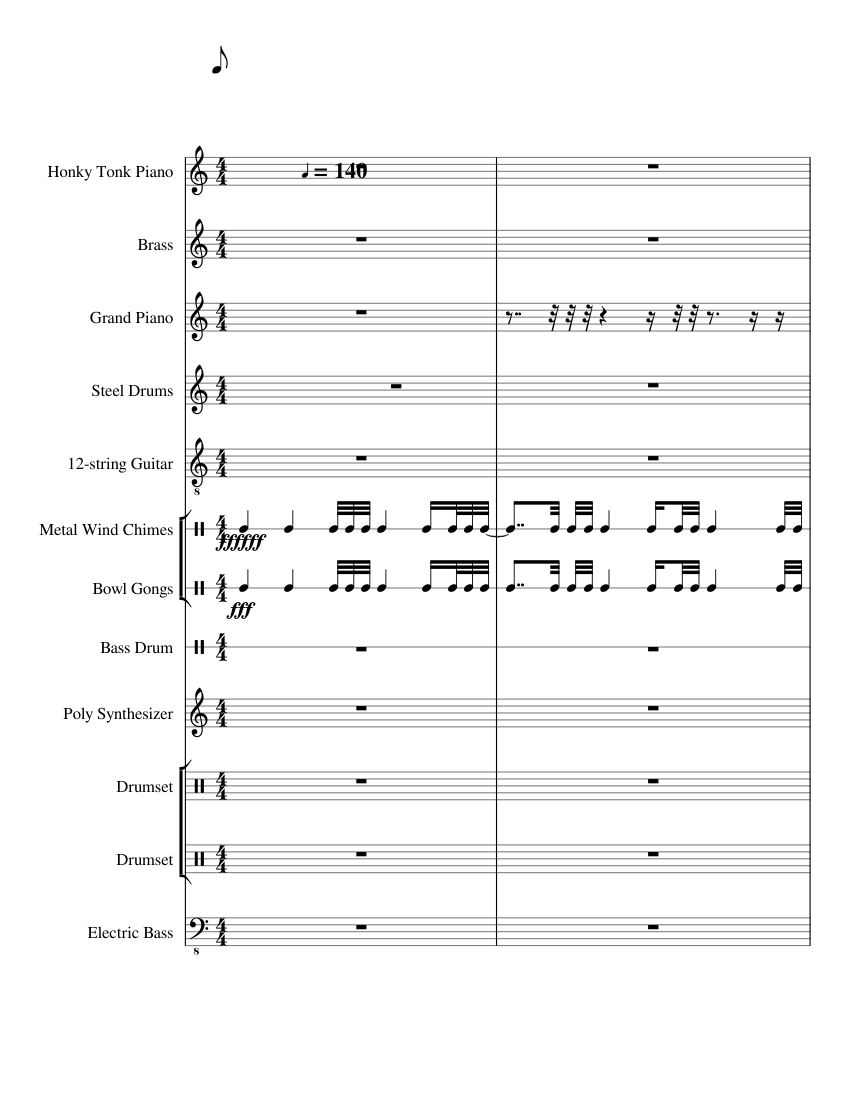 Kaththi Theme Music Tamil Sword Of Destiny Sheet Music For Piano