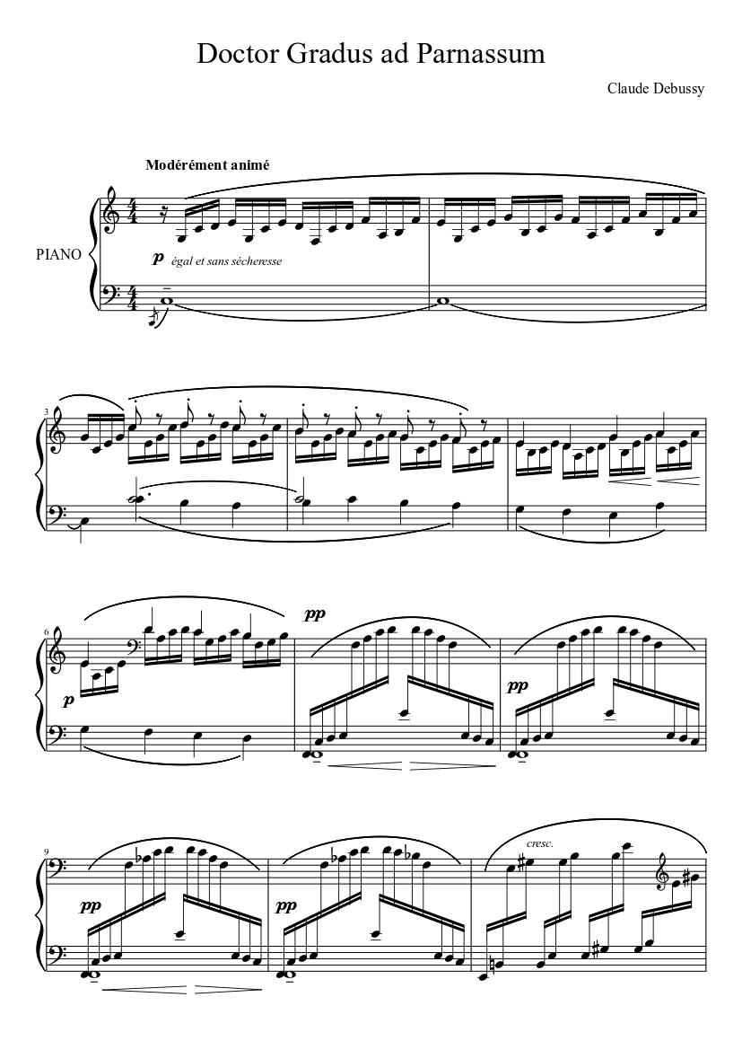 Doctor Gradus ad Parnassum Piano