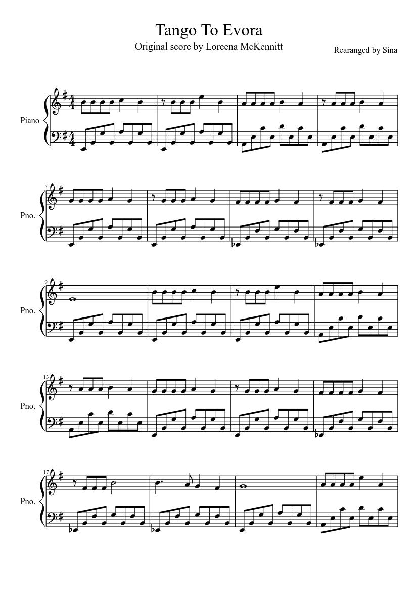 La cumparsita sheet music download free in pdf or midi.