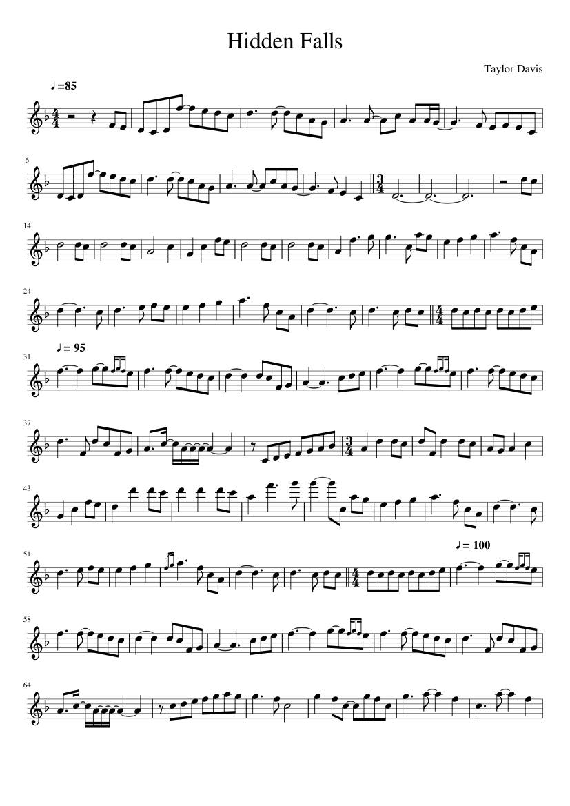 Taylor davis he's a pirate full (1 violin) and piano sheet music.