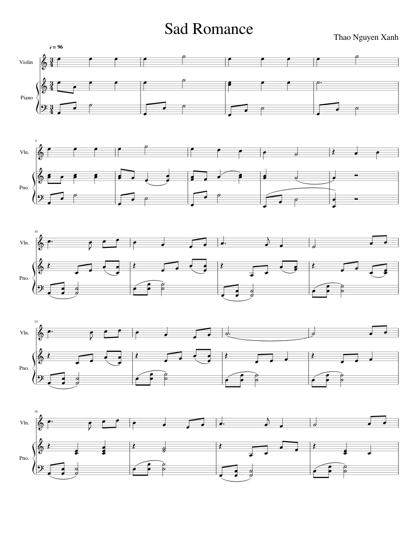 Dream a beautiful sad song sheet music for piano download free in.