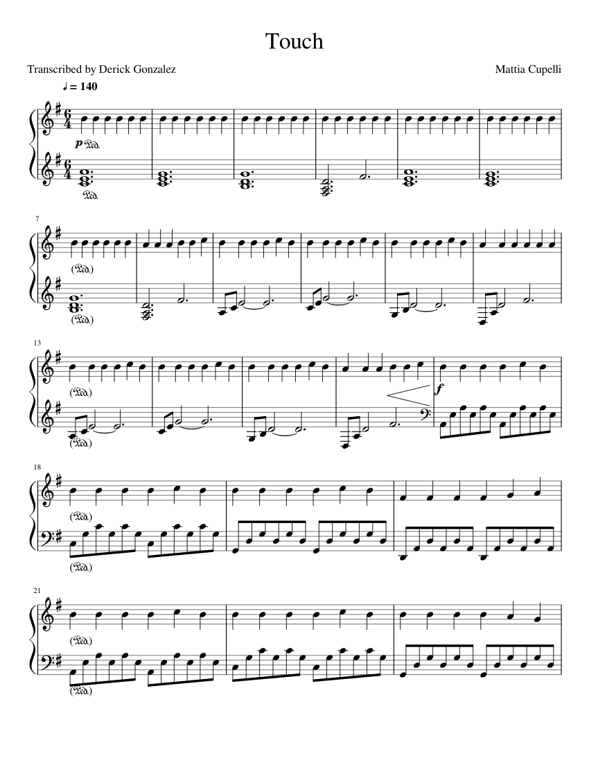 Mattia Cupelli Piano Solo