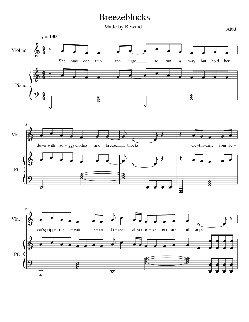 Alt-j breezeblocks (beshken remix) by beshken free download on.