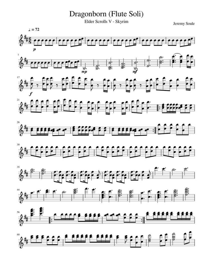 Skyrim Flute