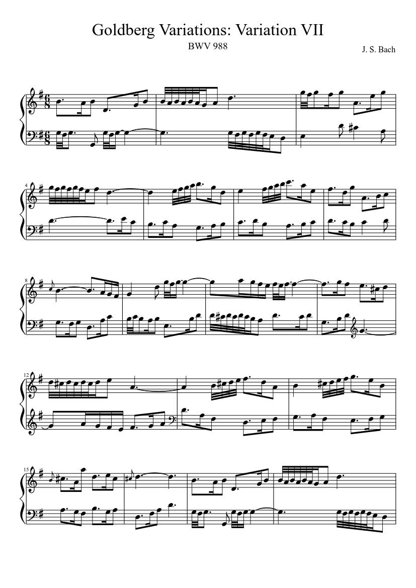 Variations pdf goldberg
