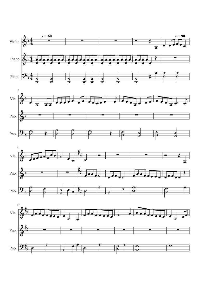 Colors Of The Wind Pocahontas Sheet Music For Violin Piano