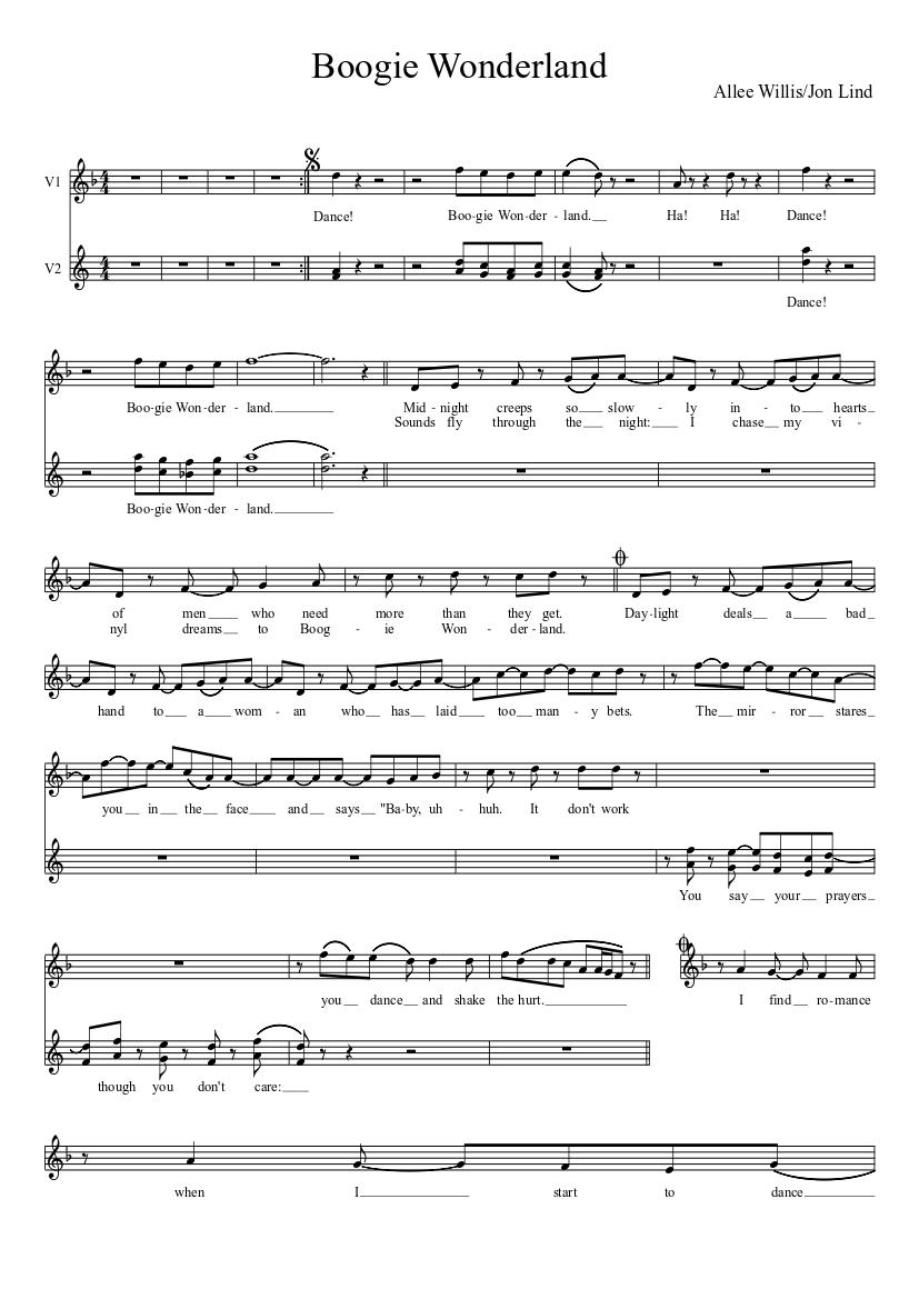 musica boogie wonderland
