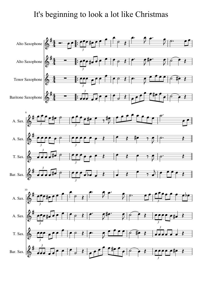 lot like Christmas Sheet music for Alto