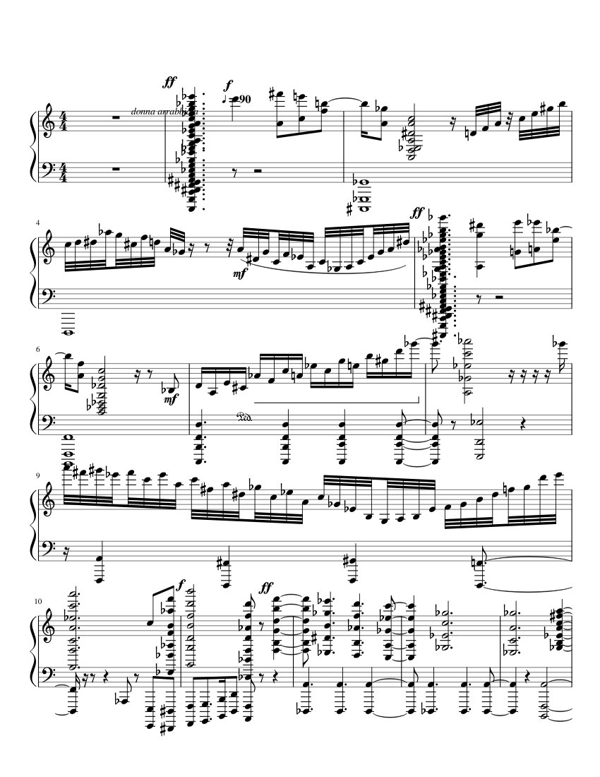 there was a time sheet music for flute piano strings harp