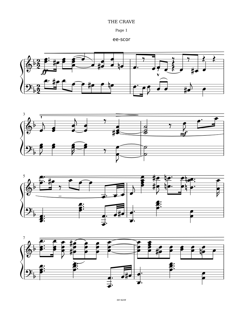 Crave Jelly Roll Morton Sheet Music For Piano Download Free