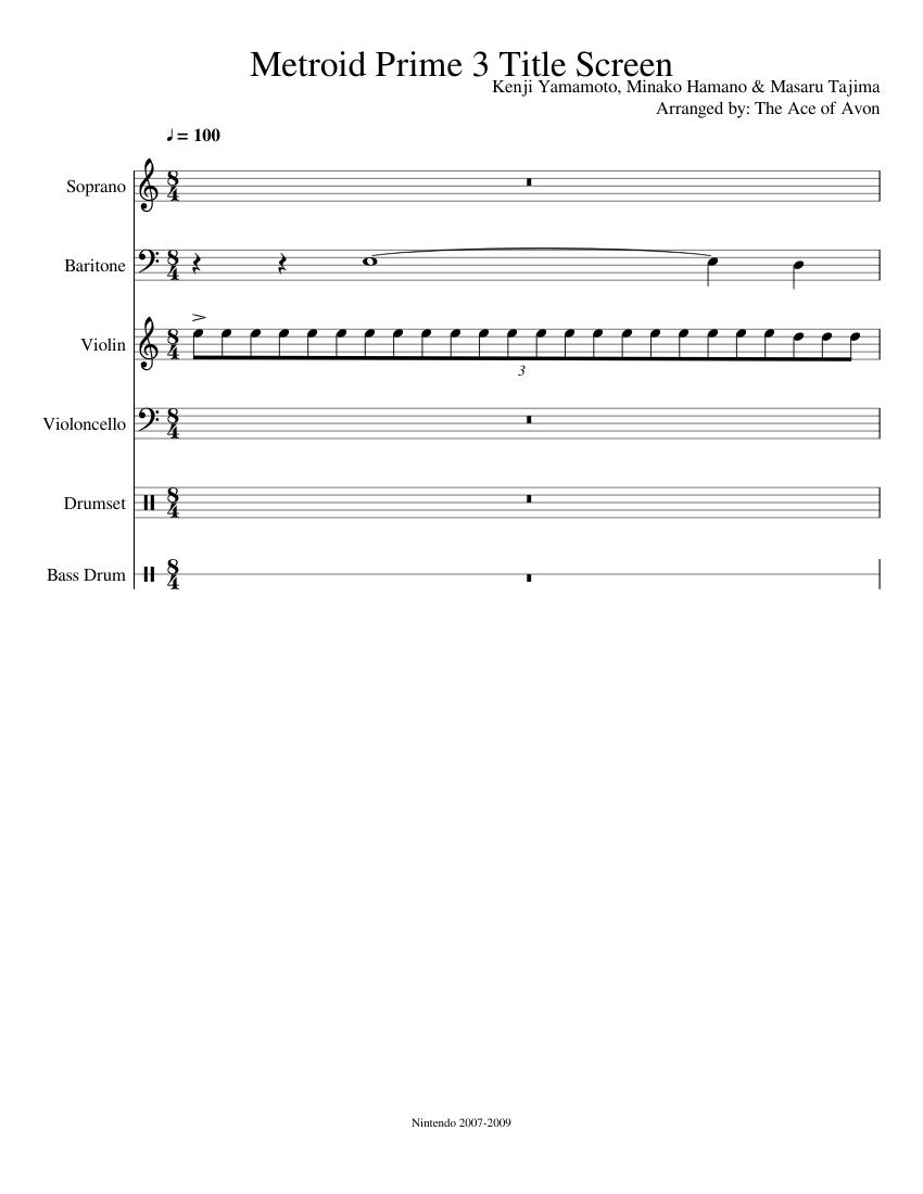 metroid prime 3 music download