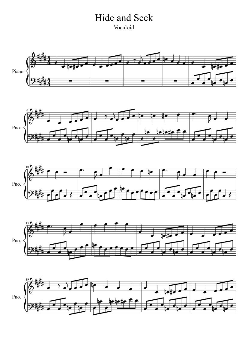 Seek ye first sheet music download free in pdf or midi.