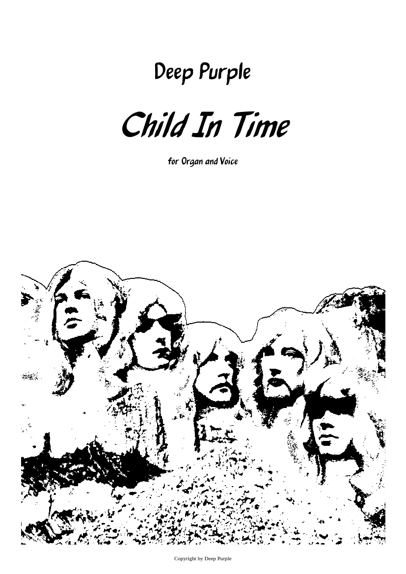 Child In Time sheet music download free in PDF or MIDI