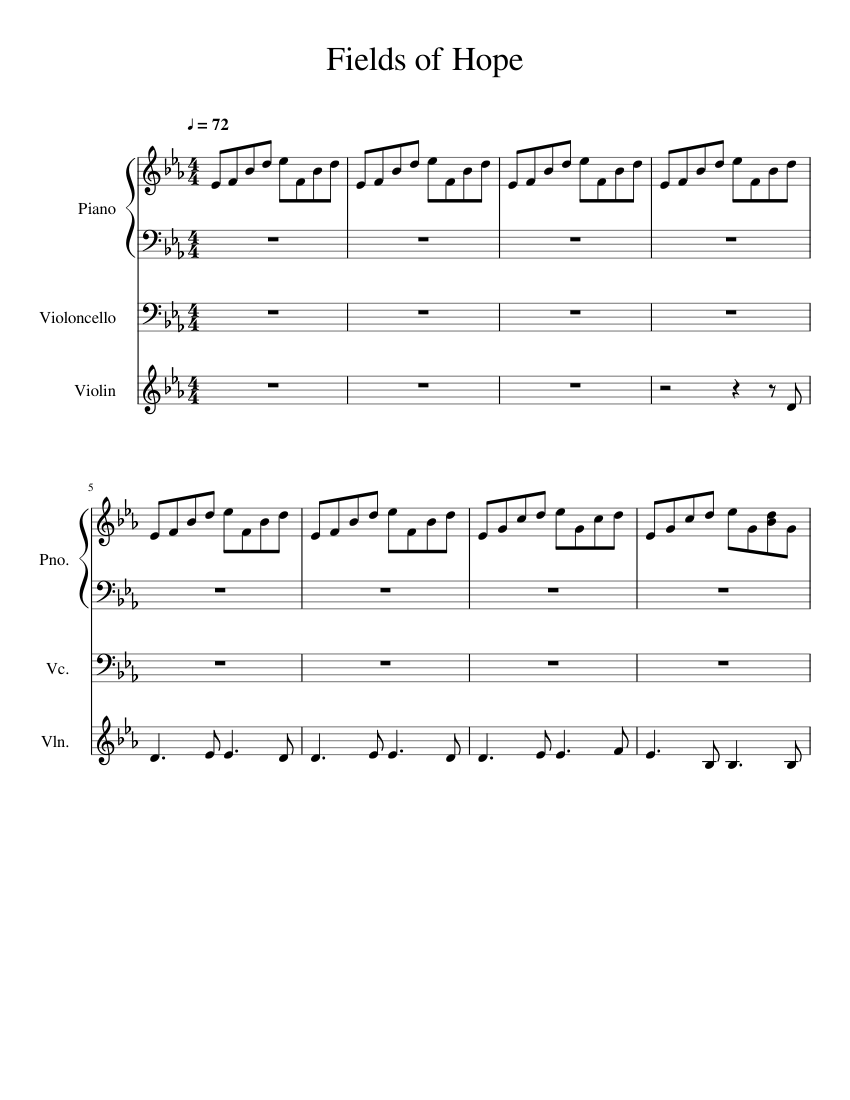 Download fields of hope (theme from land girls) sheet music by.