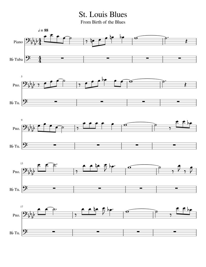 saint louis blues score