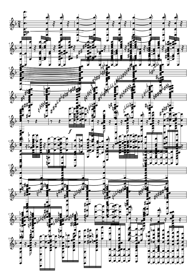 The Circus is Here sheet music for Piano download free in