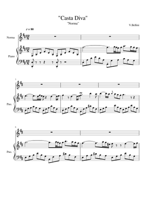 Bellini Sheet Music Free Download In Pdf Or Midi On Musescore Com
