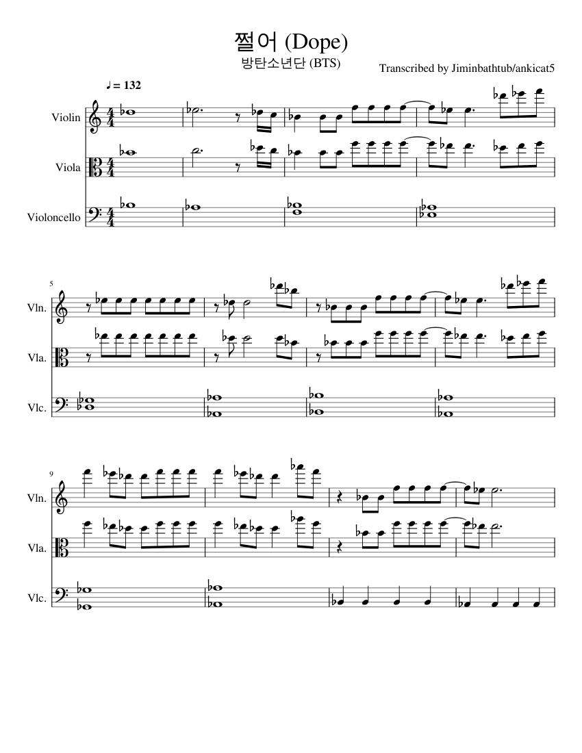 Транскрипция песни dope bts (bangtan boys)   transkriptsiya.