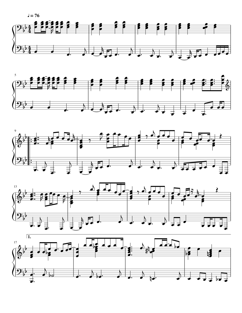 Komm Süsser Tod Sheet music for Piano (Solo) | Musescore.com