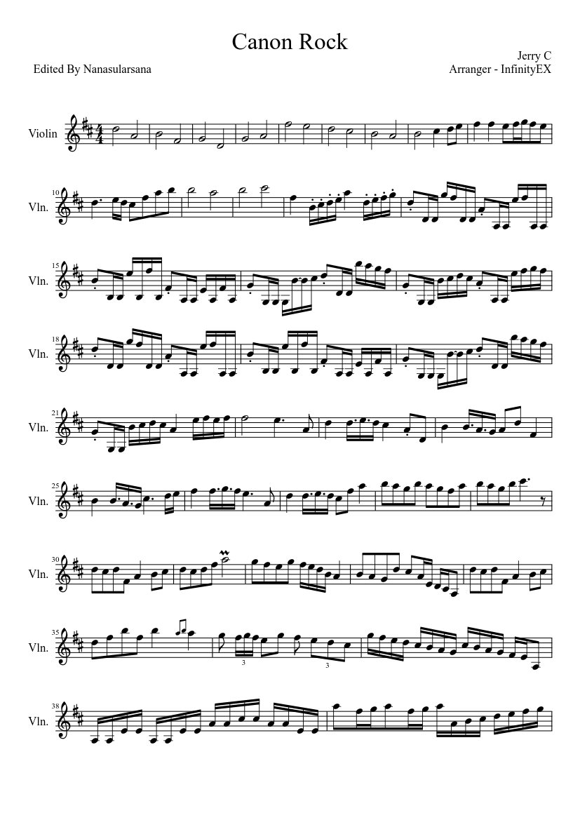 Download pachelbel's canon rock (flexi-band score and parts) sheet.