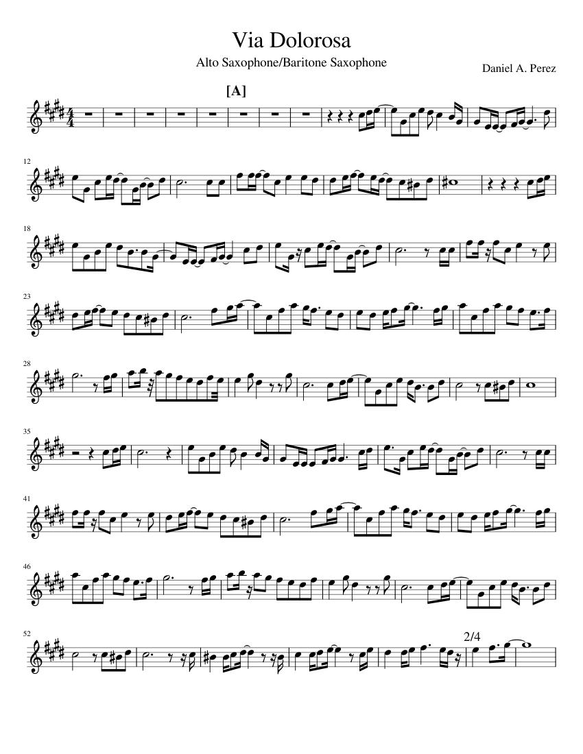 Download via dolorosa sheet music by niles borop sheet music plus.