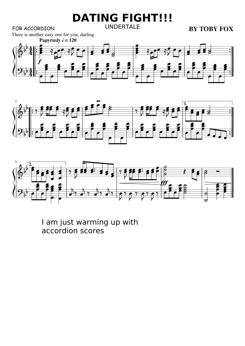 dating fight piano