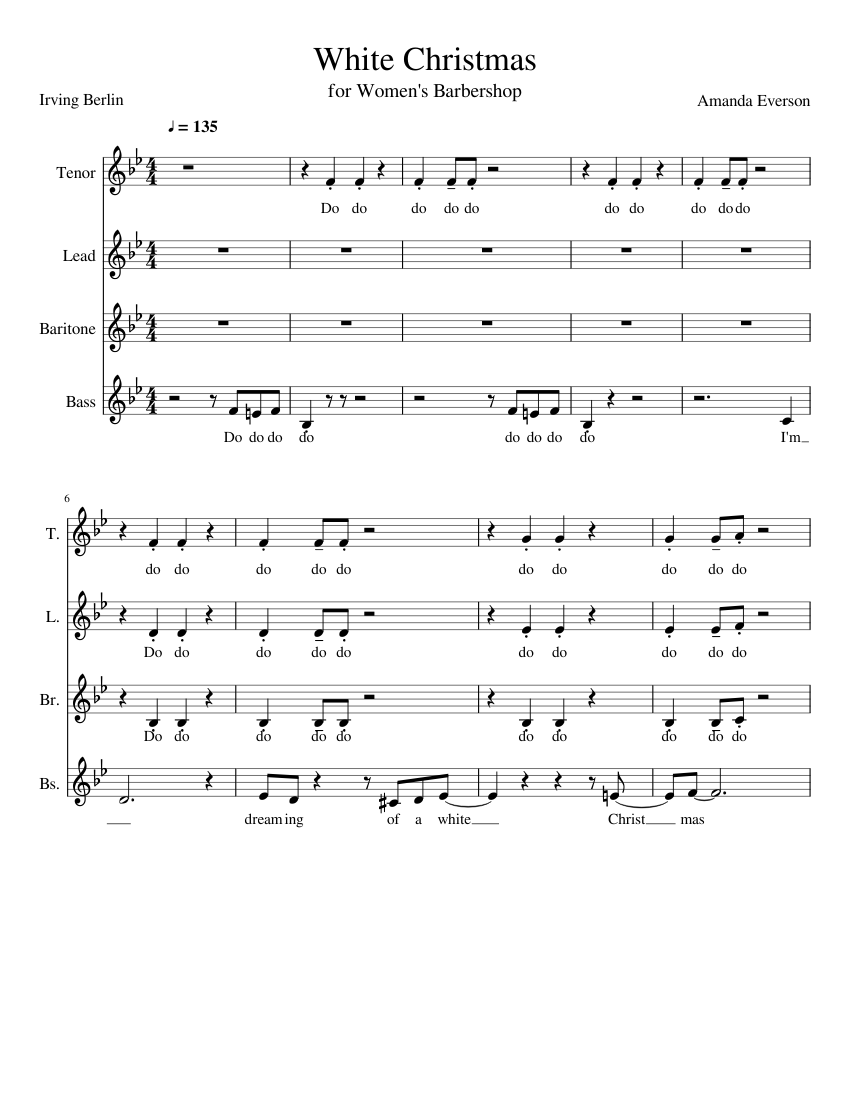 This is a picture of Unforgettable Christmas Sheet Music Pdf