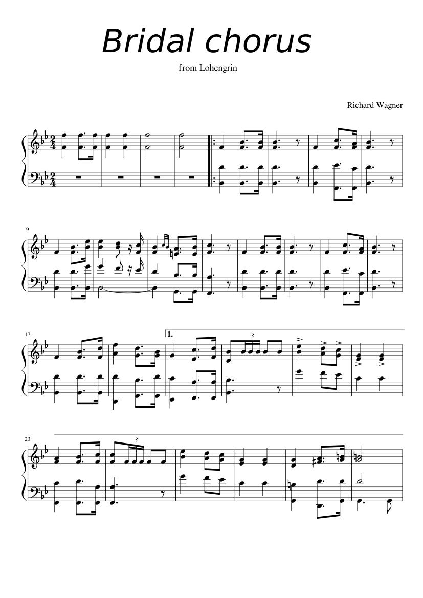 About 'Bridal Chorus'
