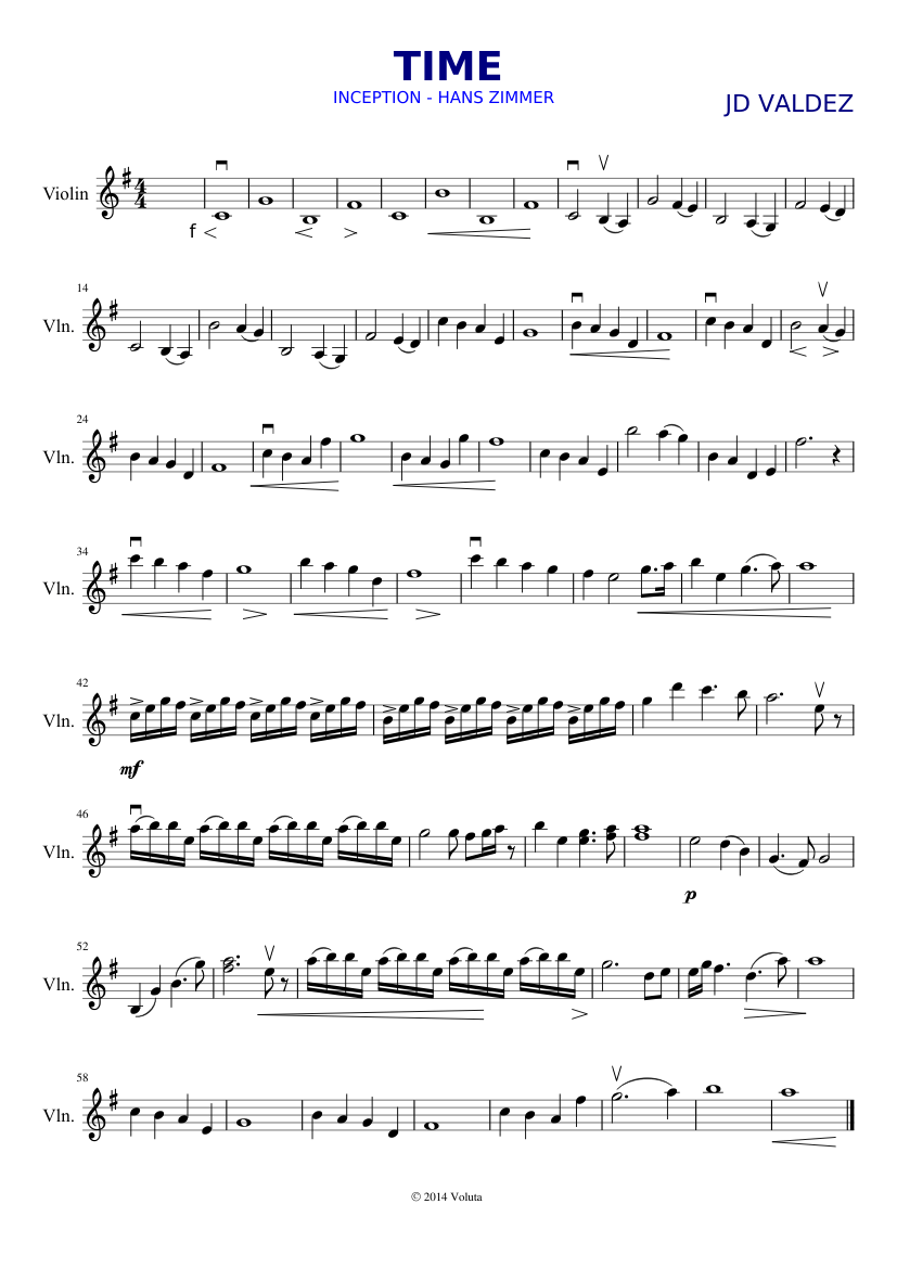 Violin Sheet Music Pdf