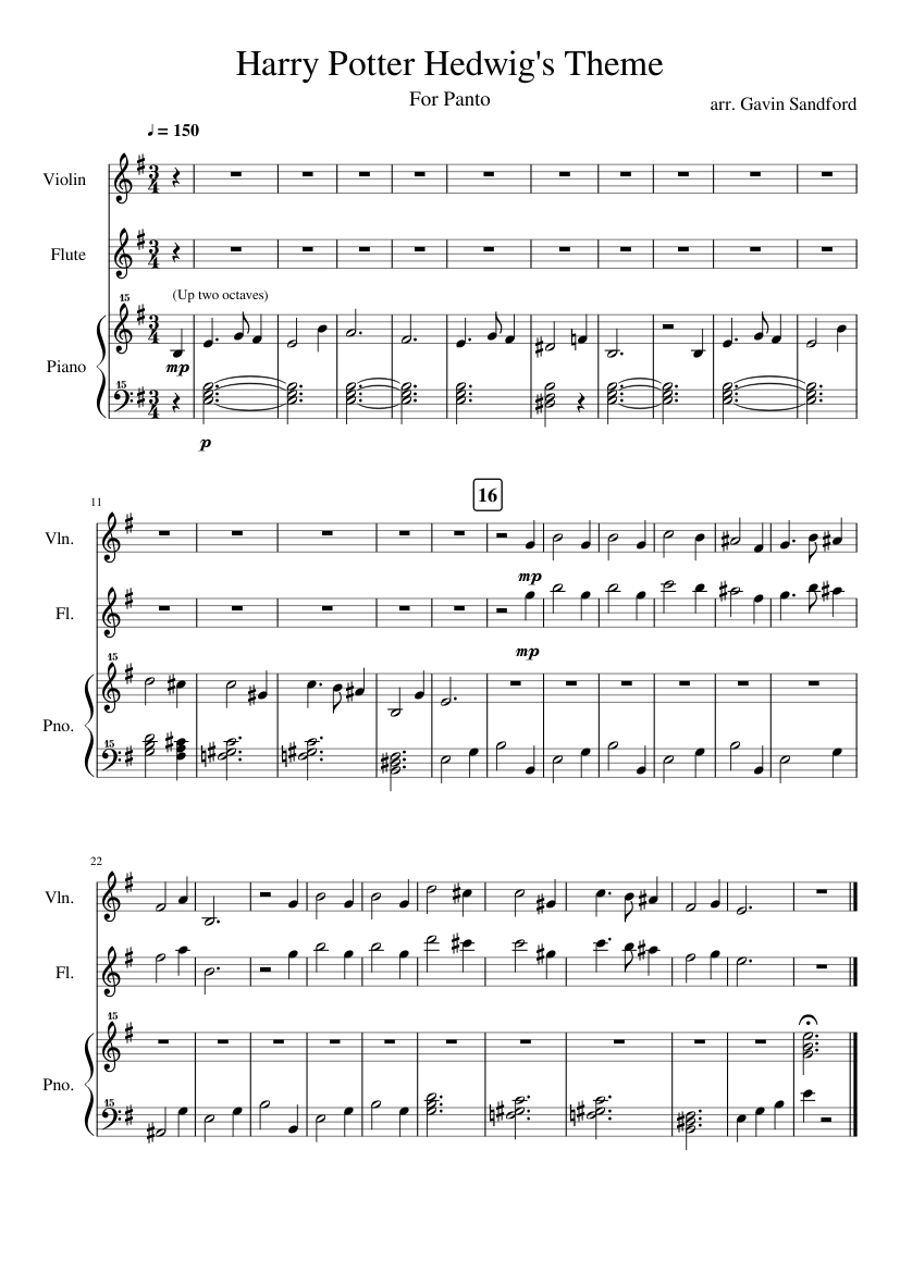 It is a picture of Modest Harry Potter Theme Song Sheet Music for Piano Free Printable