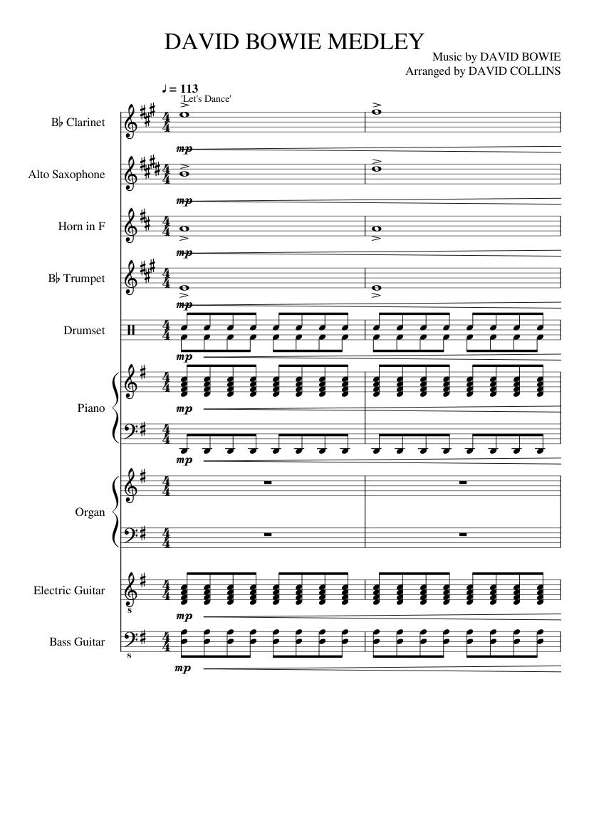 David Bowie Songbook Pdf