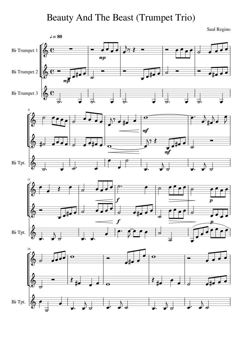 Alan Menken - Beauty And The Beast Sheet Music | Sheet ...